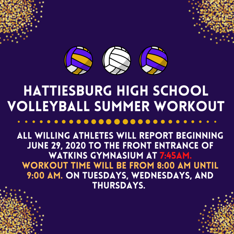 2020-2021 Hattiesburg High School Volleyball Summer Workouts Featured Photo