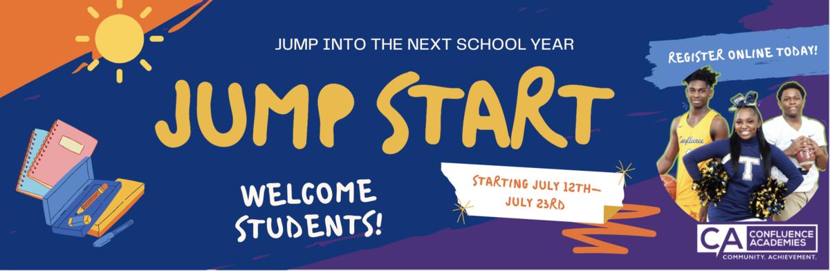 jump start confluence academies summer programs 2021-2022