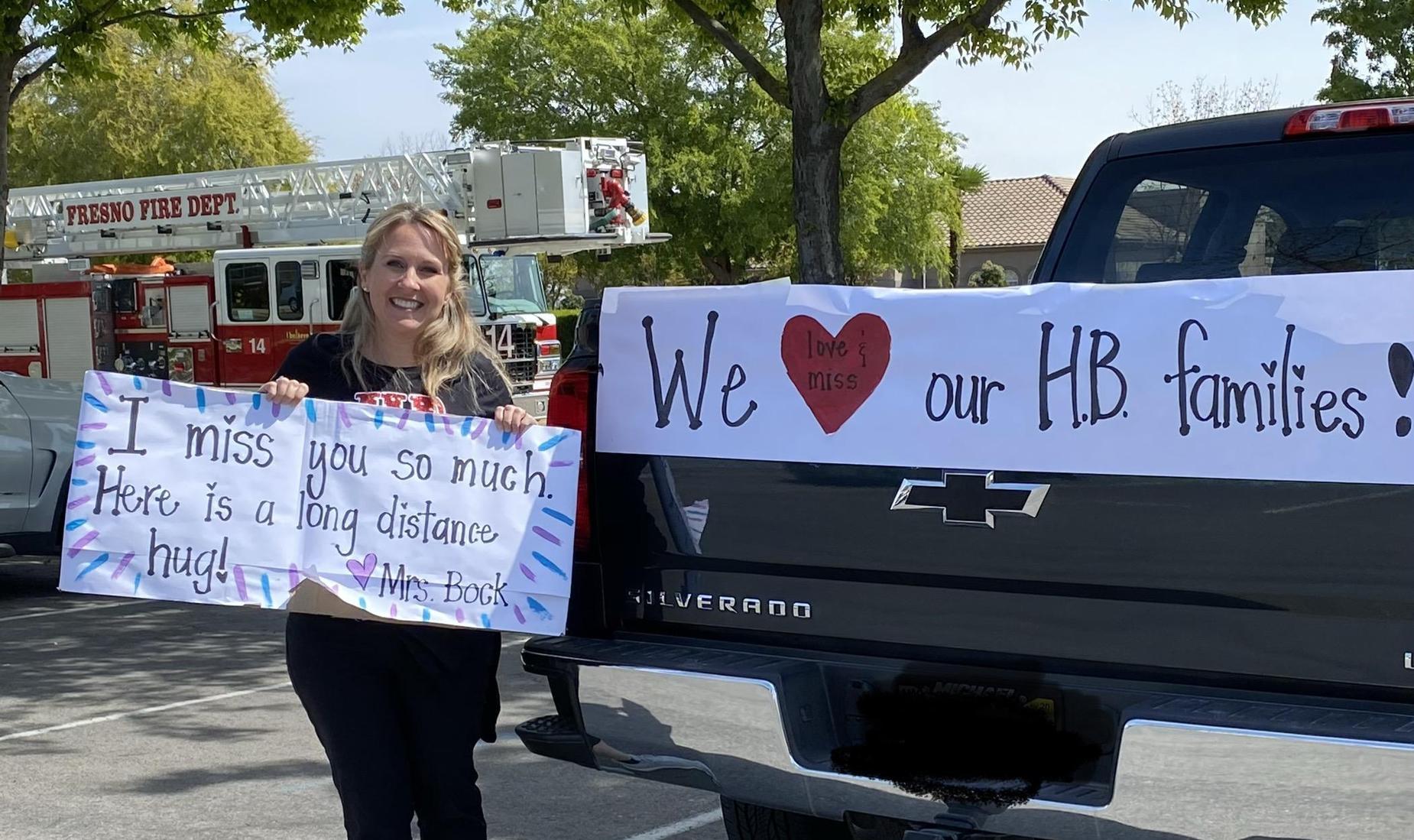 Herndon-Barstow Teacher Parade