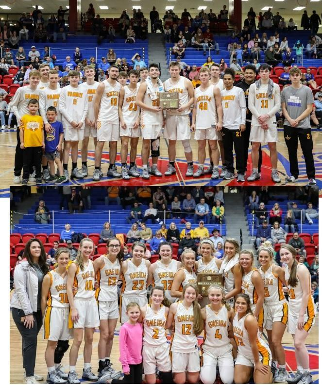 Oneida Basketball District Champs! Featured Photo