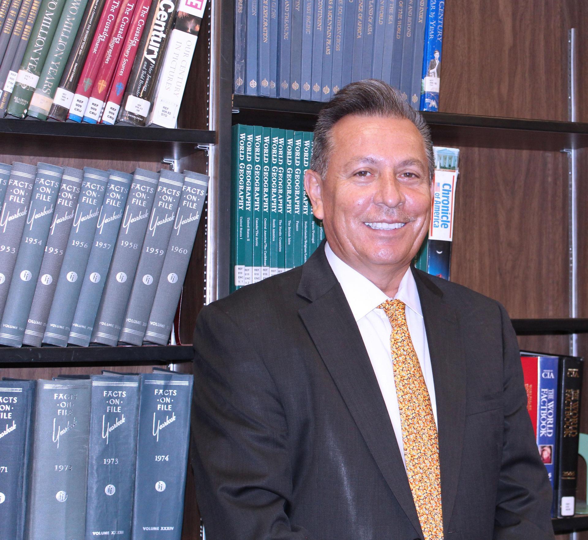 Mr. Sauceda, Principal