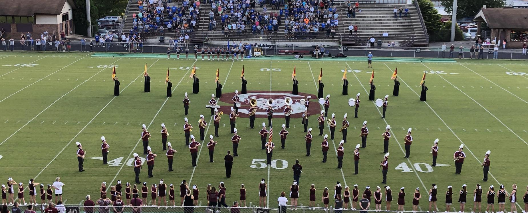 Marching Maroon Devil Band