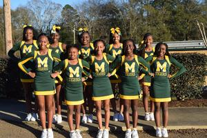 Denman Cheer Team 7th and 8th Roster