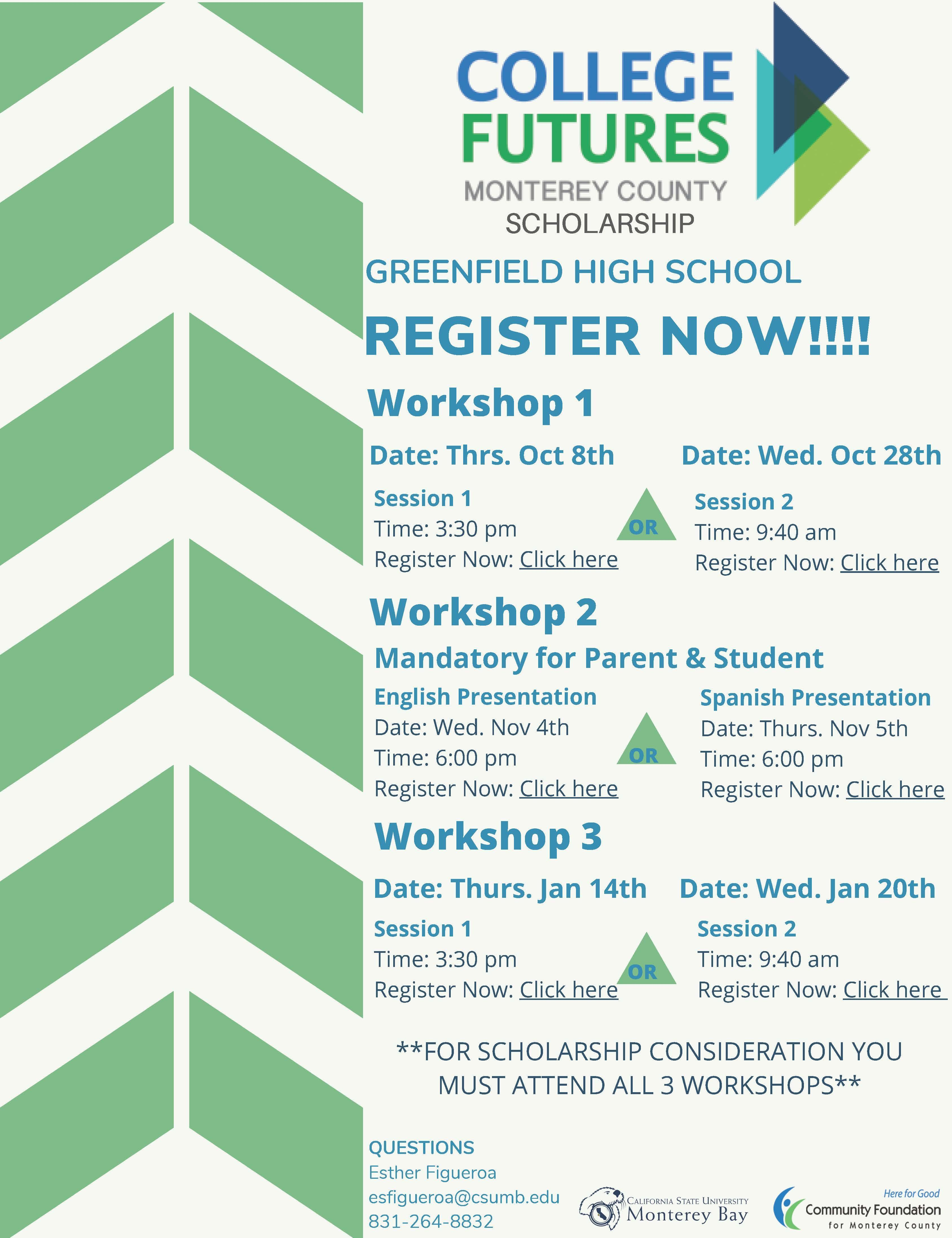 College Future Workshops