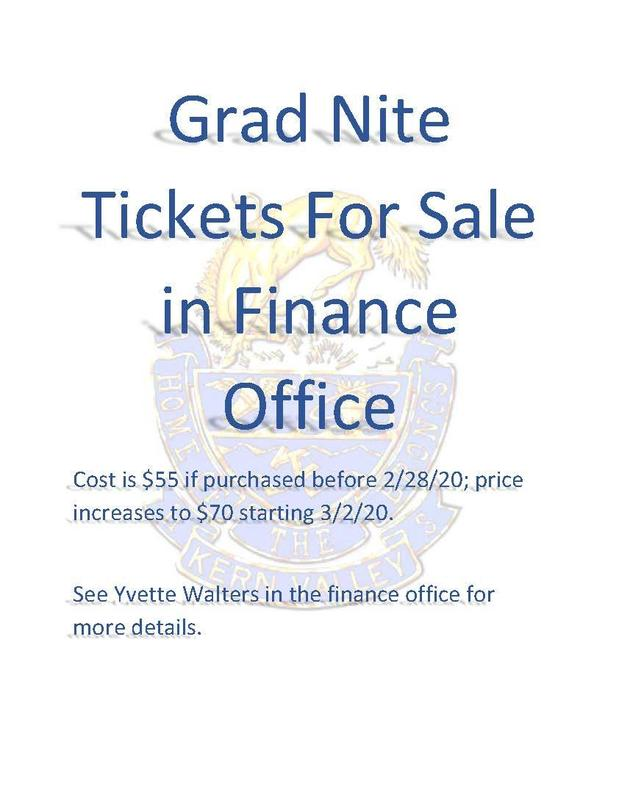 Save on Grad Nite Tickets Now