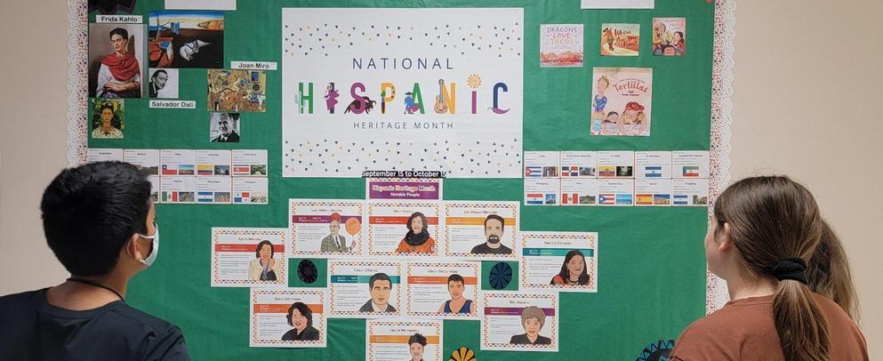 National Hispanic Heritage Month October