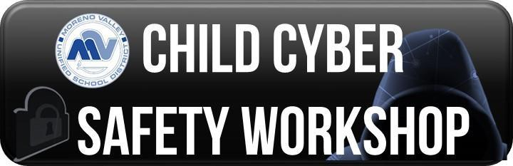 May 30, 2019 at 6:00 pm - Child Cyber Safety Workshop
