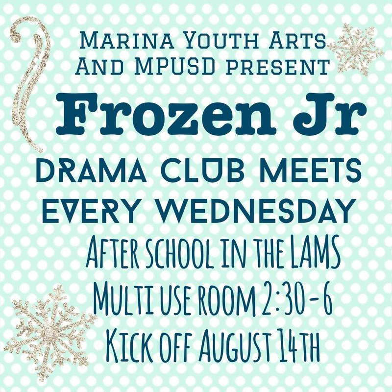 LAMS Drama Club - Frozen Jr. Featured Photo