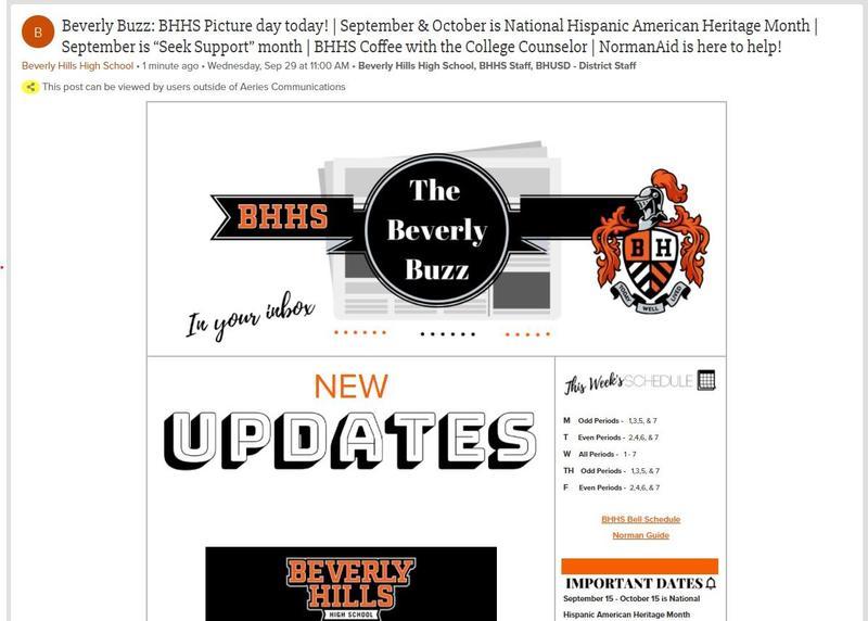 BHHS Newsletter - The Beverly Buzz - September 29, 2021