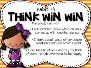Think win win Leader in me Slide