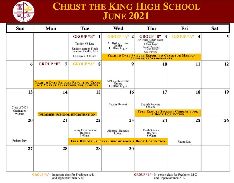 June Calendar Featured Photo