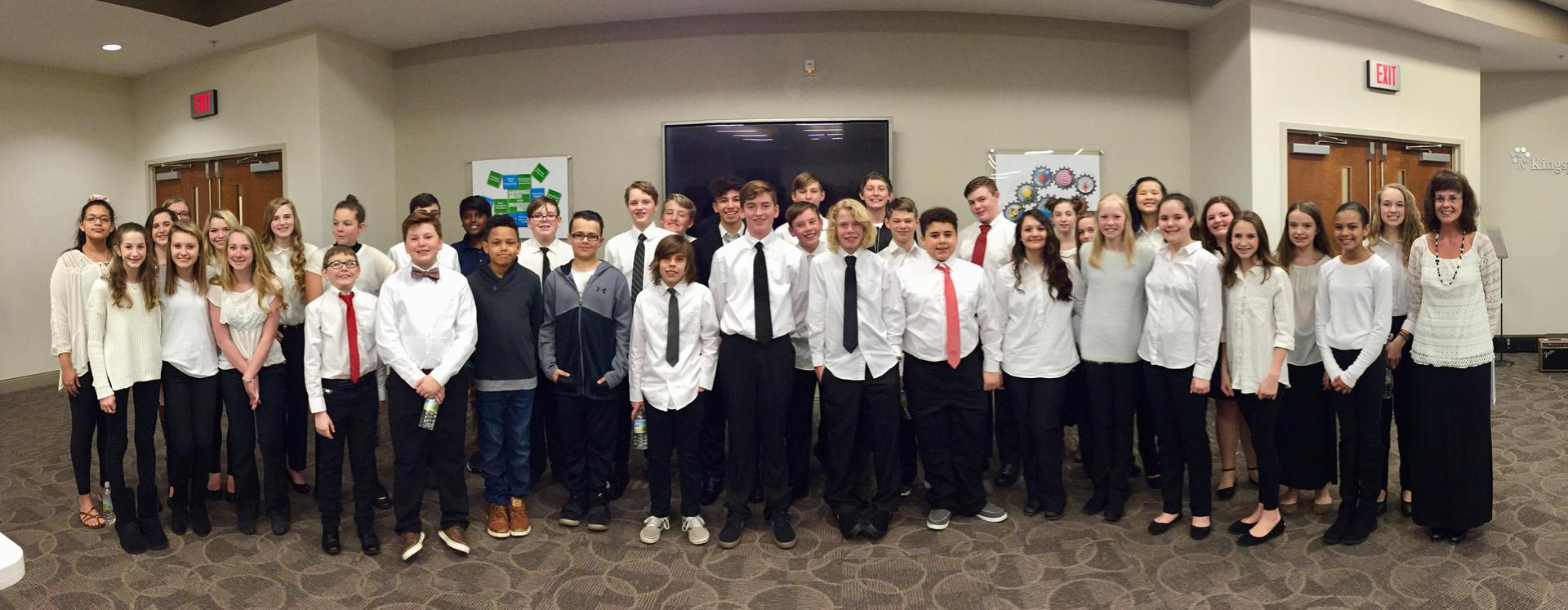 RNR Honor Choir