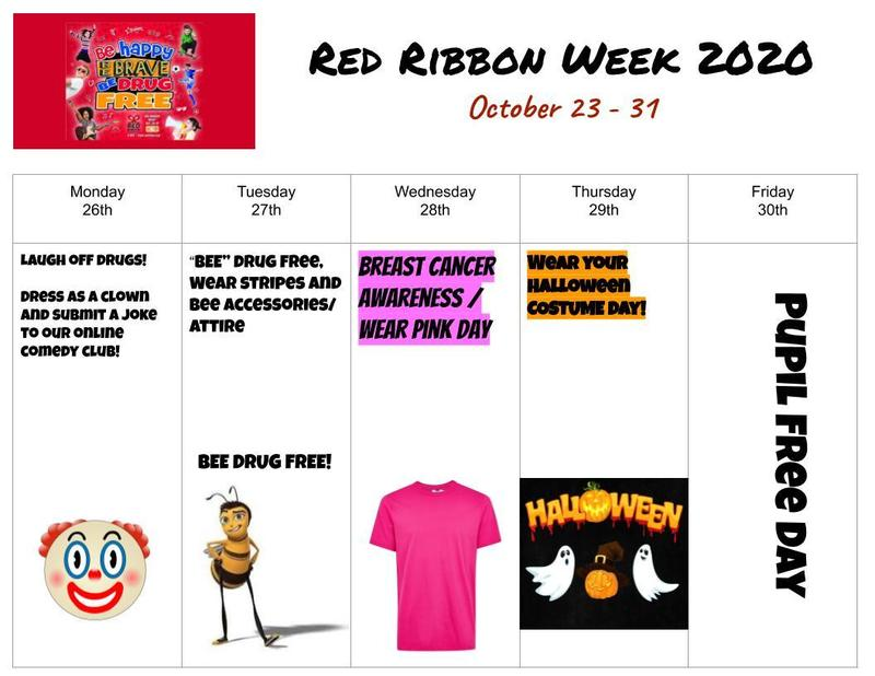 Red Ribbon Spirit Week Featured Photo