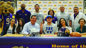 McHi football player signs with Wayland Baptist