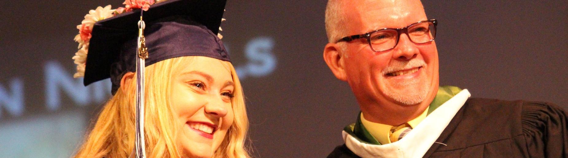 graduates and Mr. Mahoney