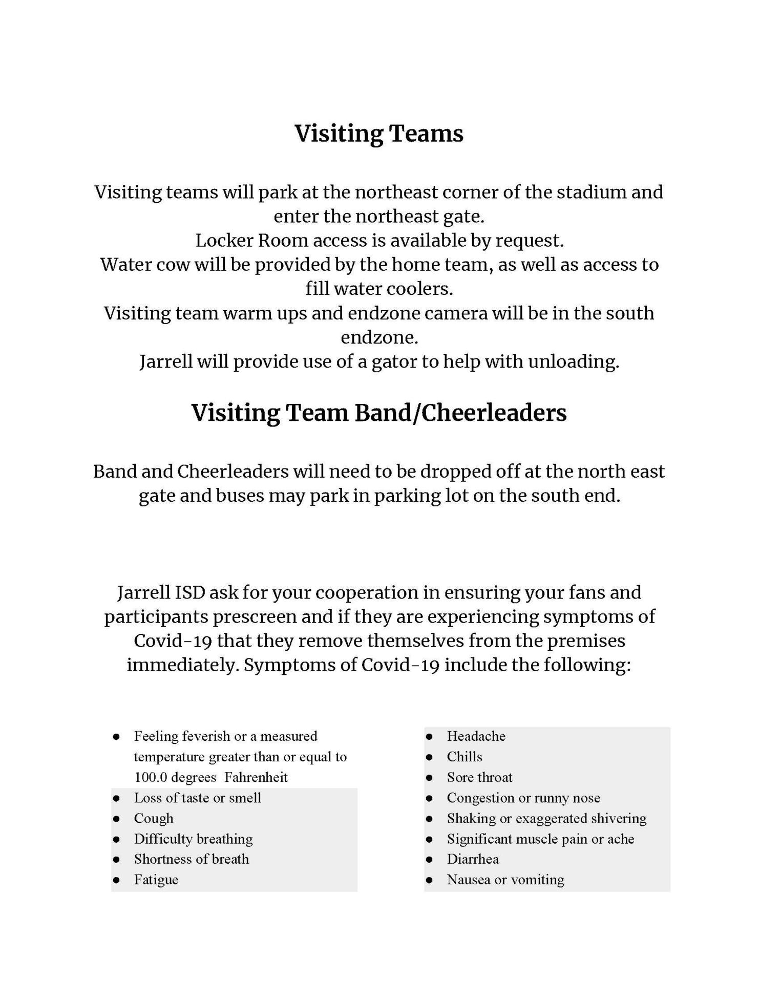 Jarrell Visitor Packet Page 3