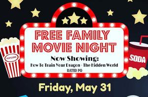 Free Family Movie Night on May 31