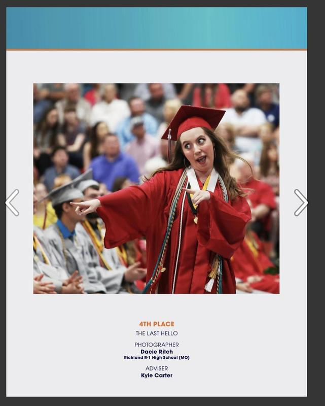 Congratulations to our yearbook staff winners! Thumbnail Image