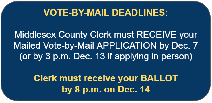 snapshot of vote by mail deadline information on this page