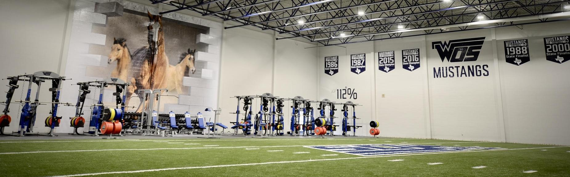 WOSHS New Weight Room