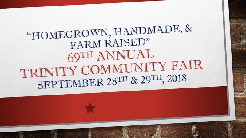 Trinity Community Fair Assoc. Logo