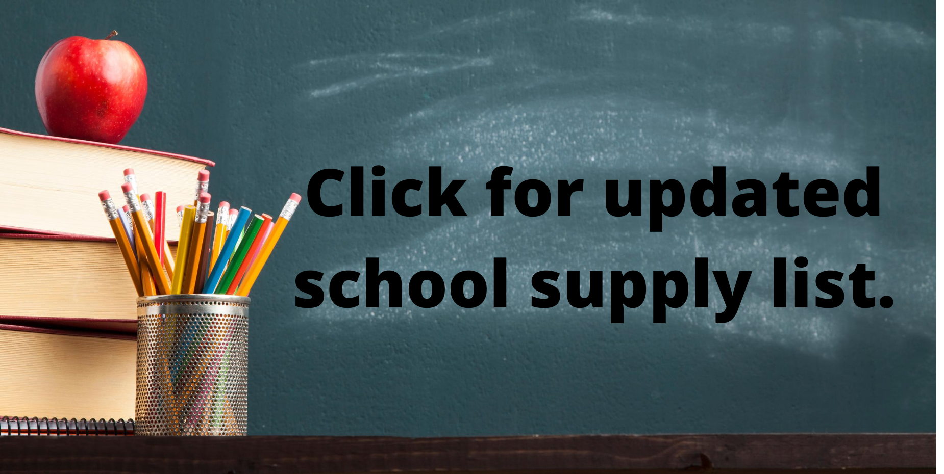image shows school supply list. click for more information.