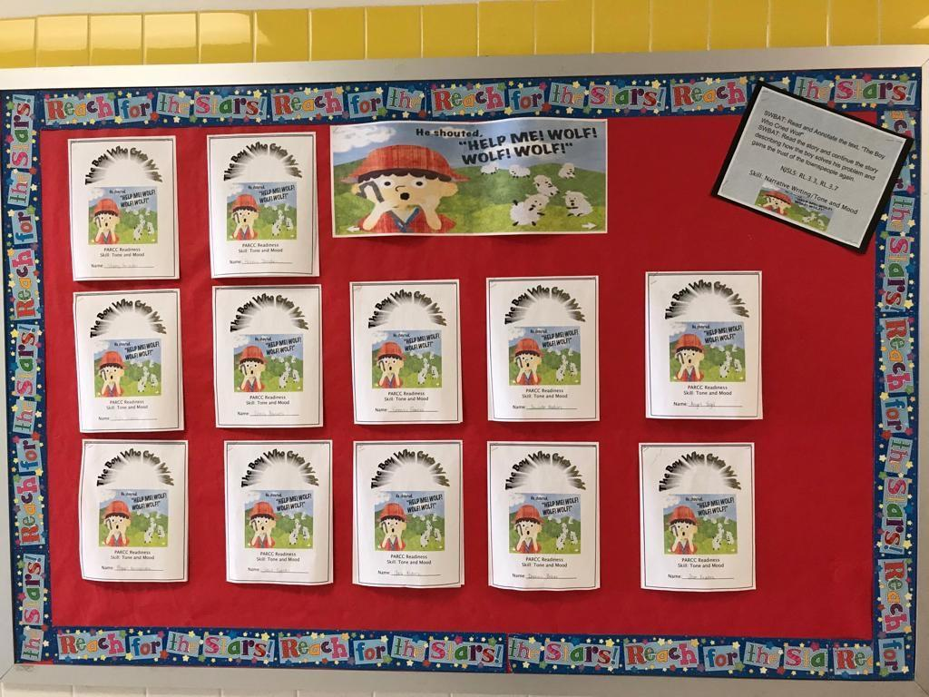 help me wolf parcc writing activity display