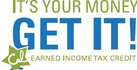 Image of CalEITC4ME Slogan: It's your money, get it!