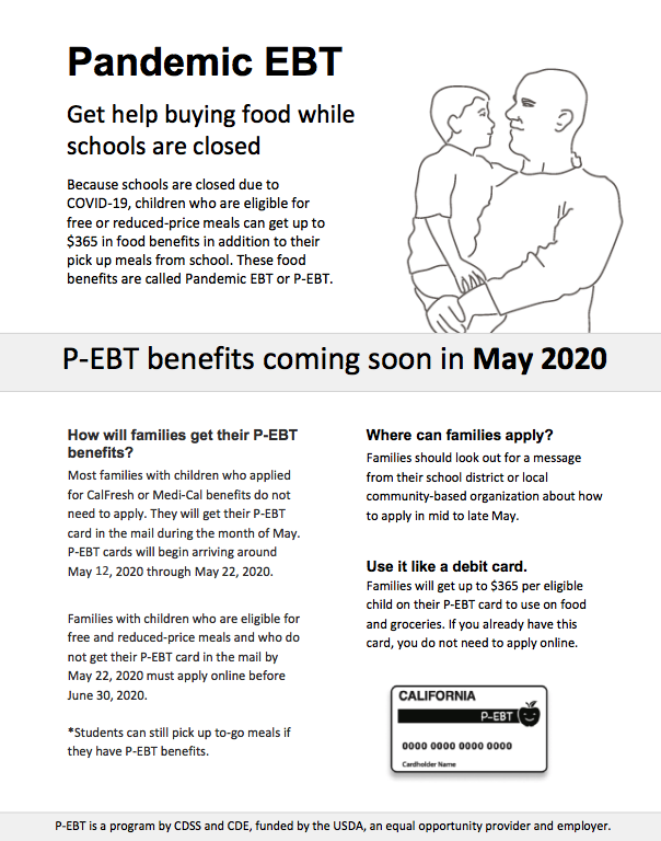 Pandemic EBT - Need help buying food? Featured Photo