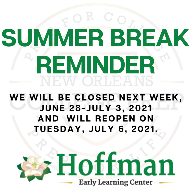 Summer Break Reminder Featured Photo