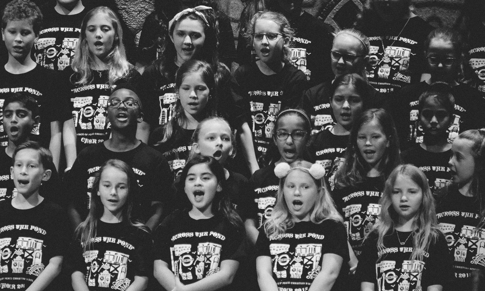 Group photo of Choir Concert