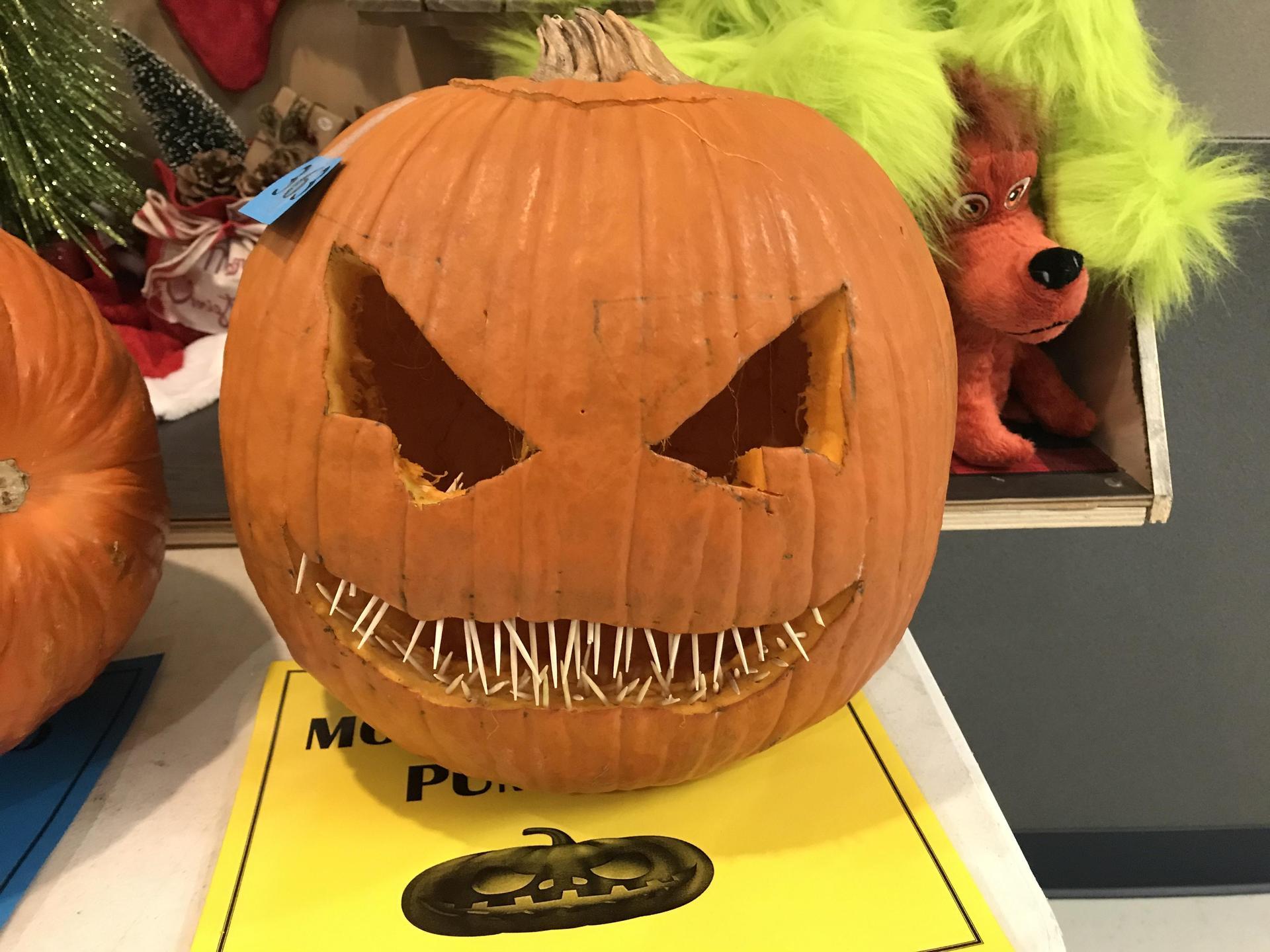 Best Kid Carved