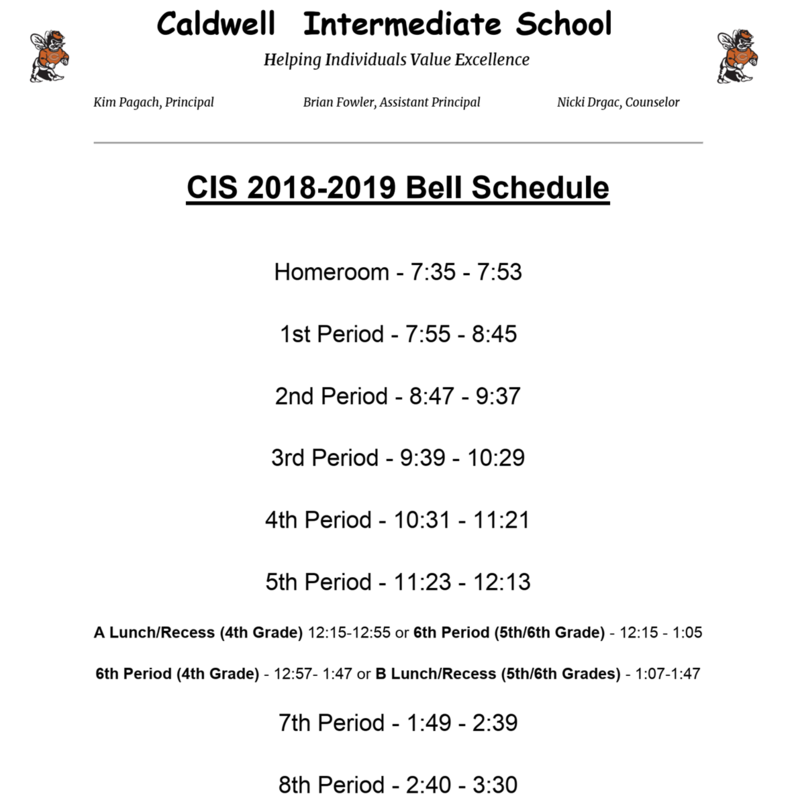 New Start Time for CIS and Bell Schedule Featured Photo