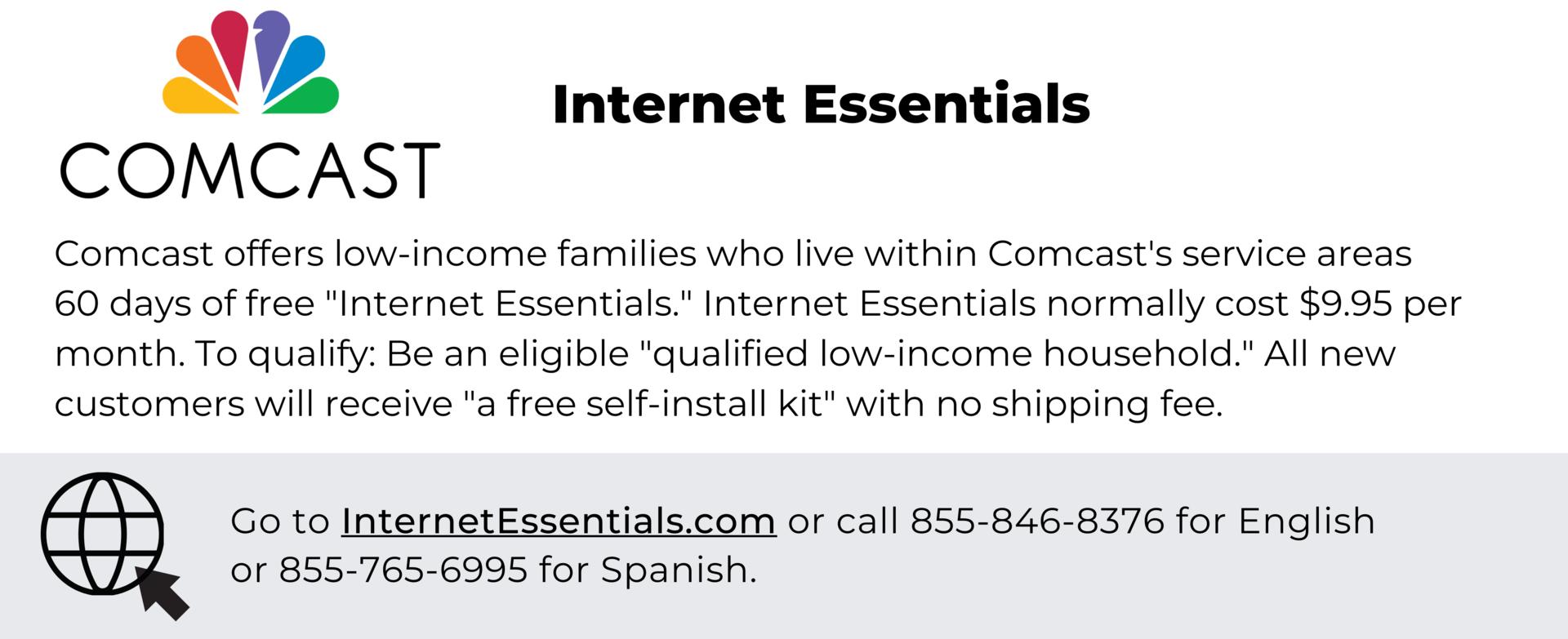 Comcast - Internet Essentials