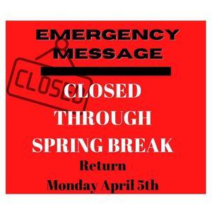 Emergency message