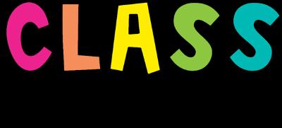 class schedule written in cursive
