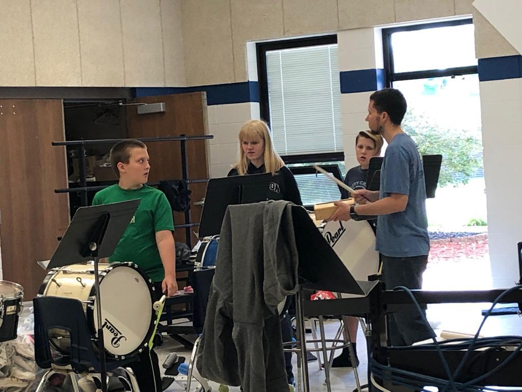 Bass Drum instruction