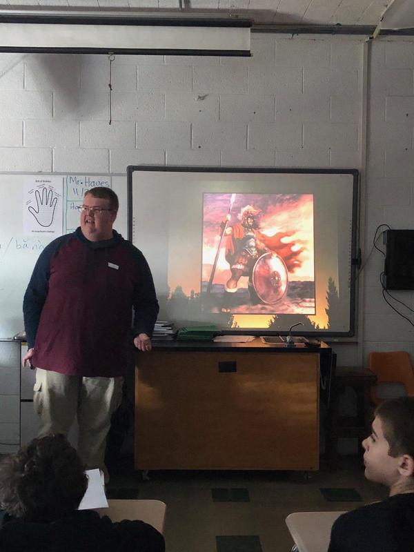 Mr. Eric Roy's Mars presentation