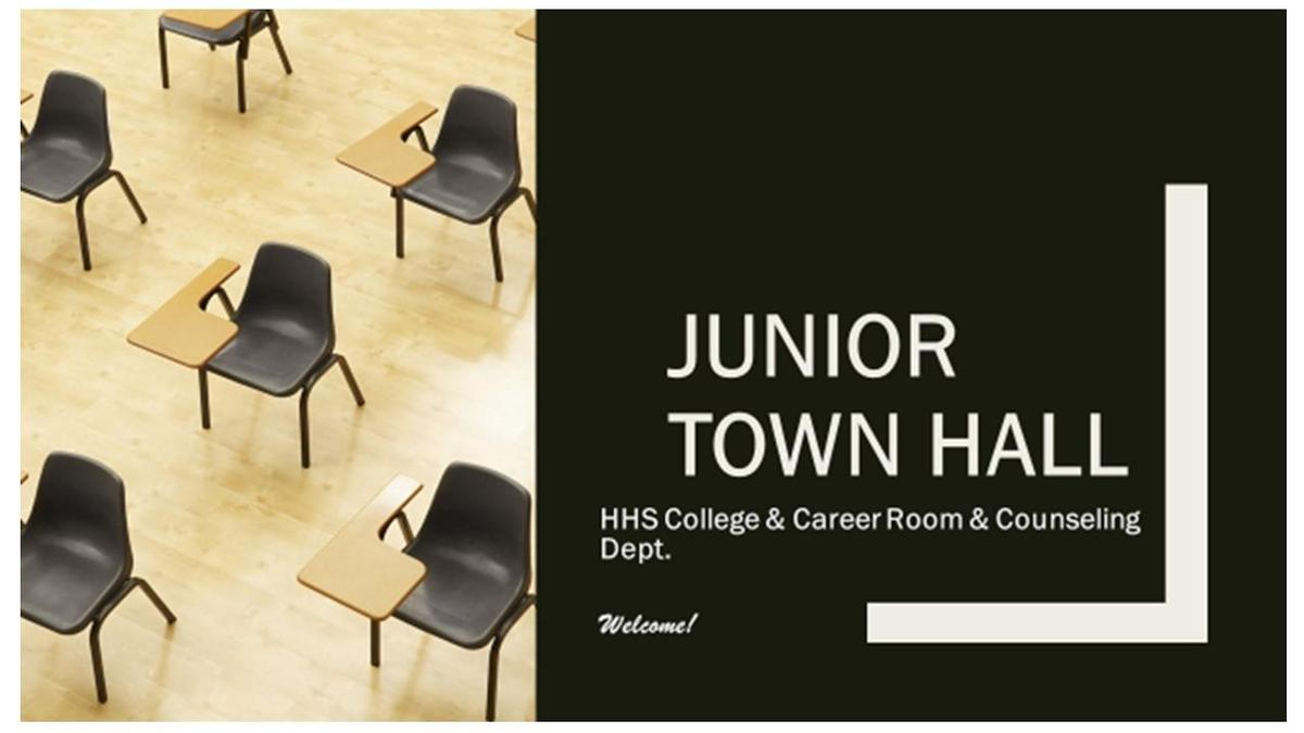 Junior Town Hall