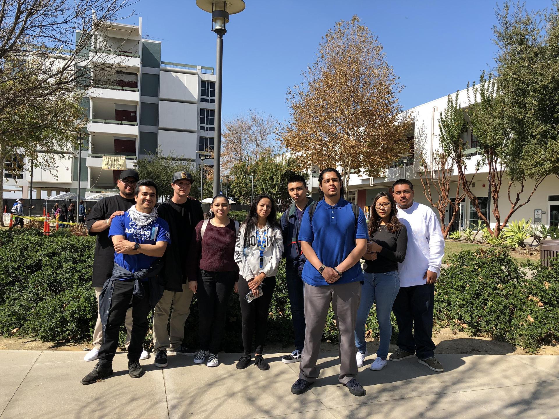 Student trip to Rio Hondo College