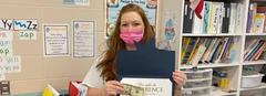 Congrats Mrs. Hayes