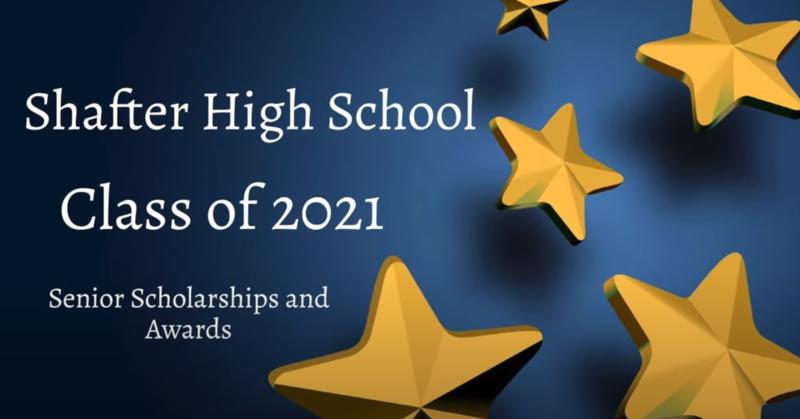 Class of 2021 Scholarship & Award Recipients Thumbnail Image