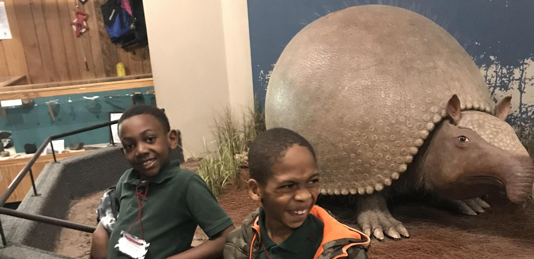 2nd Graders at SC State Museum