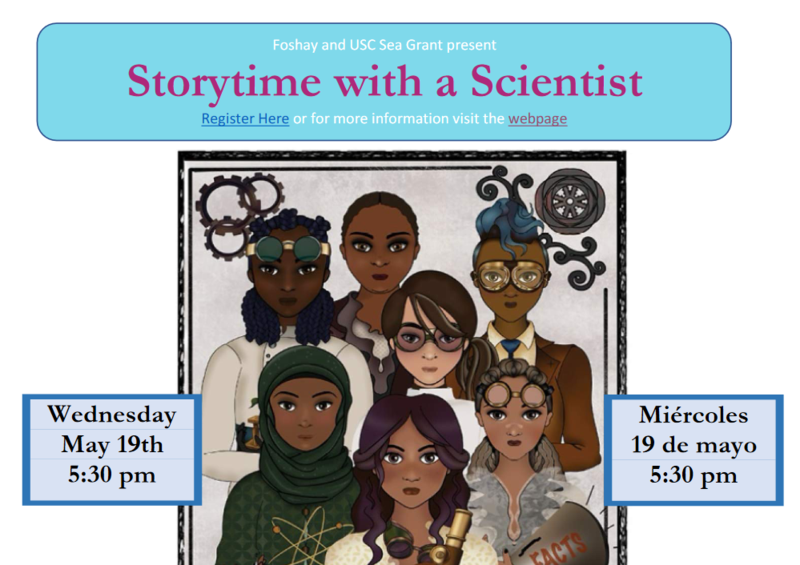Storytime with A Scientist--May 19th @ 5:30pm Featured Photo