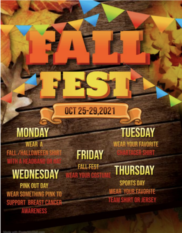 Fall Fest Week: 10/25-10/29 Featured Photo