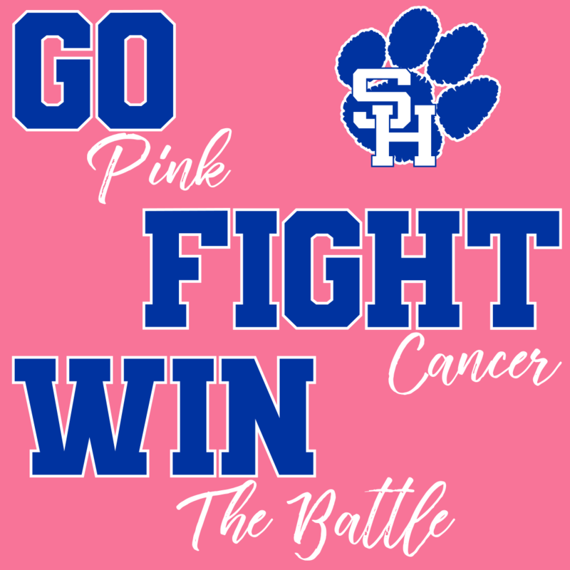 Going PINK for Breast Cancer Awareness Month!