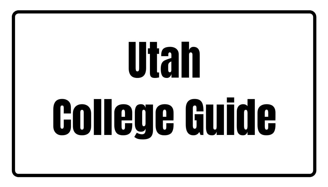Utah College Guide