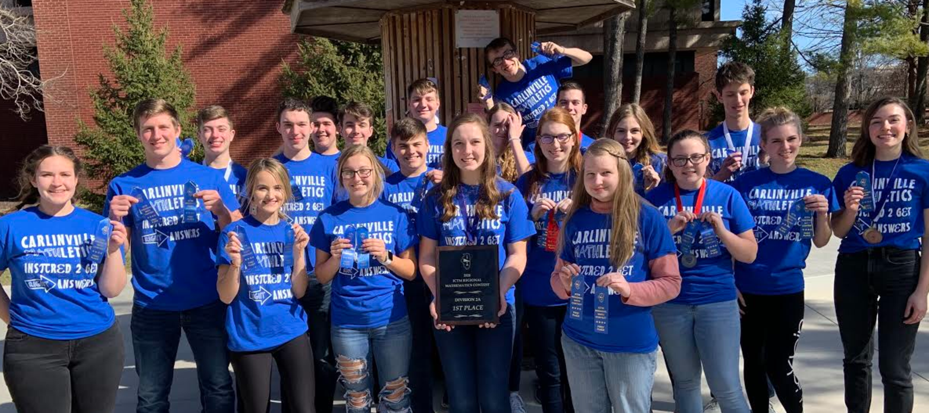 CHS Math Team wins regional
