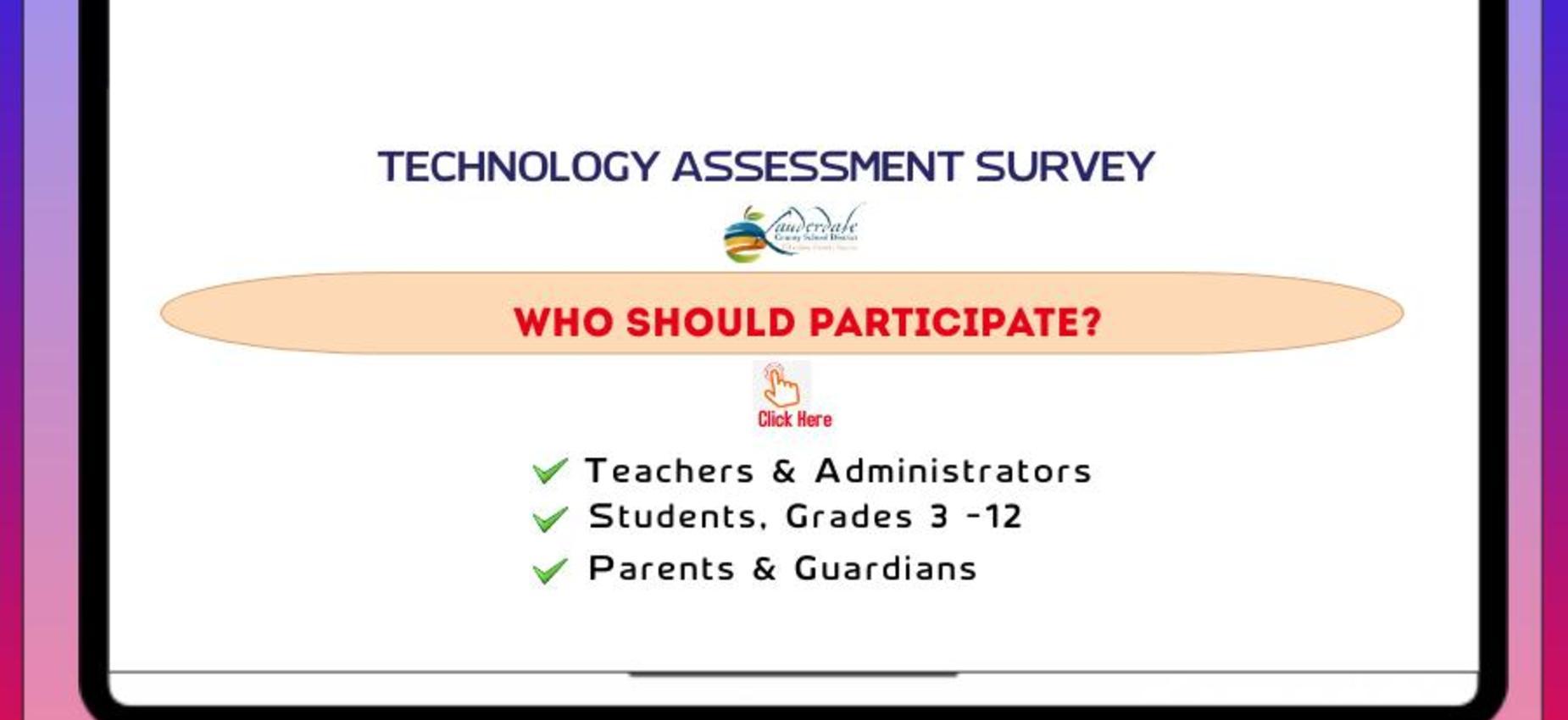 Technology Needs Assessment Survey