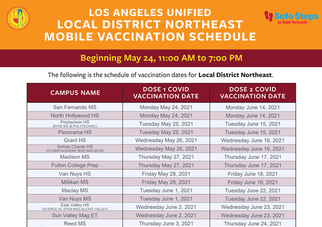 COVID-19 Vaccination Flyer Image